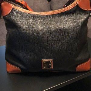 Black Dooney & Bourke Leather Bag